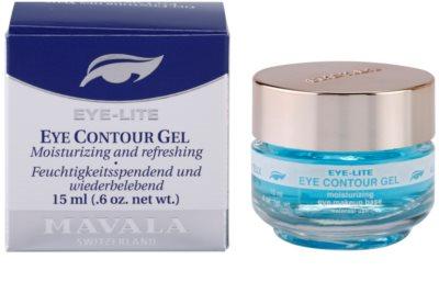 Mavala Eye Lite Gel para olhos refrescante com efeito hidratante 3