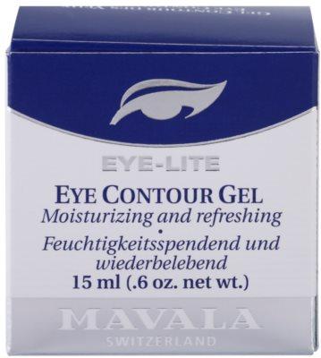 Mavala Eye Lite osvěžující oční gel s hydratačním účinkem 4