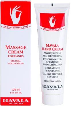 Mavala Hand Care creme de massagem para mãos 1