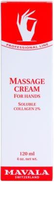 Mavala Hand Care creme de massagem para mãos 2