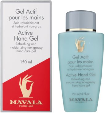 Mavala Hand Care gel refrescante para manos 1