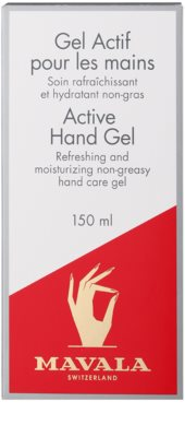 Mavala Hand Care gel refrescante para manos 2