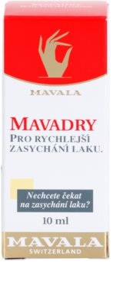 Mavala Mavadry secante rápido para esmalte de uñas 2