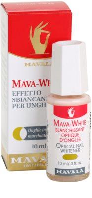 Mavala Mava-White lac de unghii pentru albirea unghilor 1