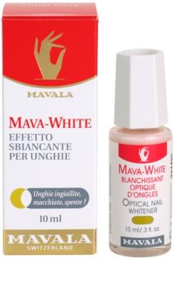 Mavala Mava-White lac de unghii pentru albirea unghilor 2