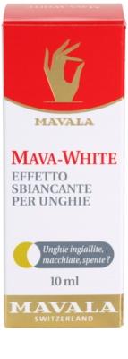 Mavala Mava-White lac de unghii pentru albirea unghilor 3