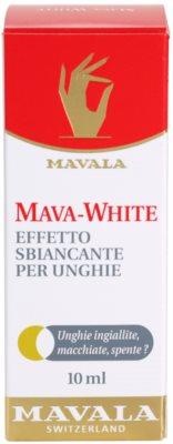 Mavala Mava-White lak za beljenje nohtov 3