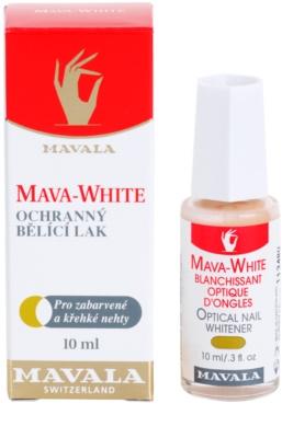 Mavala Mava-White lac de unghii pentru albirea unghilor 4