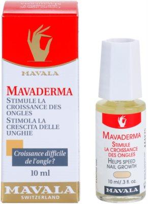 Mavala Mavaderma cuidado para crescimento de unhas 2
