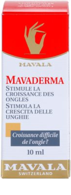 Mavala Mavaderma cuidado para crescimento de unhas 3