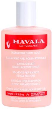 Mavala Nail Care odlakovač na nehty bez acetonu