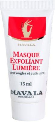 Mavala Nail Care rozjasňující maska na nehty a nehtovou kůžičku