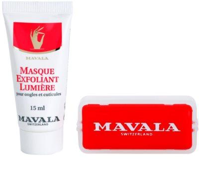 Mavala Nail Care masca iluminatoare unghii si cuticule 1