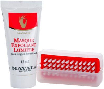 Mavala Nail Care masca iluminatoare unghii si cuticule 2