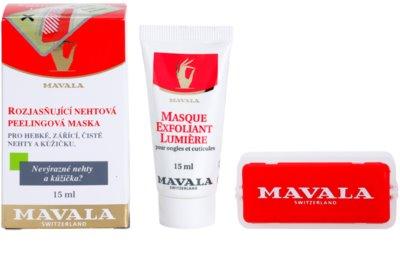 Mavala Nail Care aufhellende Hautmaske Für Nägel und Nagelhaut 3
