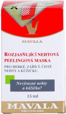 Mavala Nail Care masca iluminatoare unghii si cuticule 4
