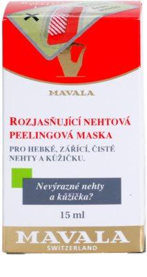 Mavala Nail Care aufhellende Hautmaske Für Nägel und Nagelhaut 4