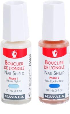 Mavala Nail Shield produto bifásico reforço de unhas