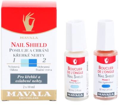 Mavala Nail Shield dvofazni pripravek za krepitev nohtov 1