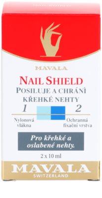 Mavala Nail Shield dvofazni pripravek za krepitev nohtov 2