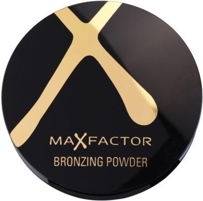 Max Factor Bronzing Powder polvos con efecto bronceado