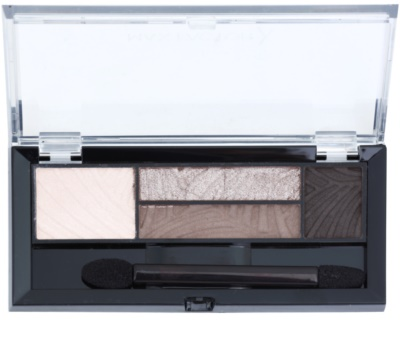 Max Factor Smokey Eye Drama Kit paleta farduri de pleoape si sprancene cu aplicator