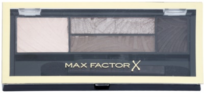 Max Factor Smokey Eye Drama Kit paleta farduri de pleoape si sprancene cu aplicator 1