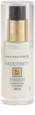 Max Factor Facefinity sminkalap a make-up alá