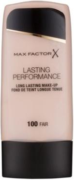 Max Factor Lasting Performance langlebiges Flüssig Make-up 1