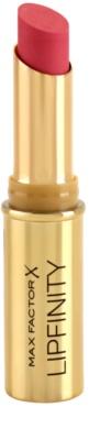 Max Factor Lipfinity hosszan tartó rúzs hidratáló hatással