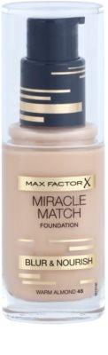 Max Factor Miracle Match Flüssiges Make Up mit feuchtigkeitsspendender Wirkung