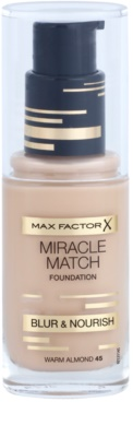 Max Factor Miracle Match base líquida com efeito hidratante