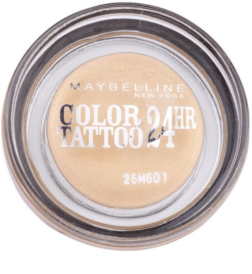 Maybelline Eyestudio Color Tattoo 24 HR żelowe cienie do powiek 1