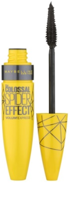 Maybelline Volum´ Express The Colossal Spider Effect Volumenmascara mit Verlängerungseffekt und Wimperntrennung