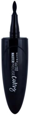 Maybelline Master Precise Curvy oční linky v peru