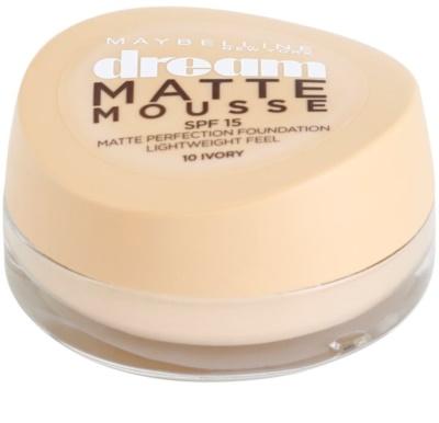 Maybelline Dream Matte Mousse podkład matujący podkład matujący