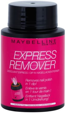 Maybelline Express Remover removedor de verniz sem acetona
