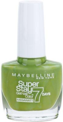 Maybelline Forever Strong Super Stay 7 Days Megawatt verniz