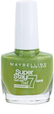 Maybelline Forever Strong Super Stay 7 Days Megawatt лак для нігтів