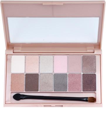 Maybelline The Blushed Nudes paleta očních stínů