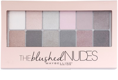 Maybelline The Blushed Nudes Palette mit Lidschatten 1