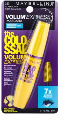 Maybelline Volum´ Express The Colossal máscara de pestañas resistente al agua 1