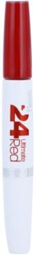 Maybelline SuperStay 24H Ultimate Red szminka w płynie  z balsamem