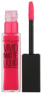 Maybelline Color Sensational Vivid Matte Liquid barra de labios líquida con efecto mate