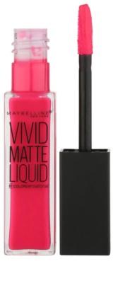 Maybelline Color Sensational Vivid Matte Liquid tekutá rtěnka s matným efektem