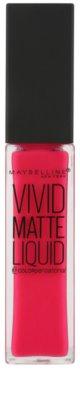 Maybelline Color Sensational Vivid Matte Liquid tekutá rtěnka s matným efektem 1