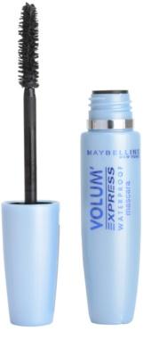 Maybelline Volum´ Express Waterproof Wasserfester Mascara für 3x mehr Volumen