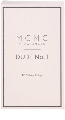 MCMC Fragrances Dude No.1 Eau de Cologne para homens 5