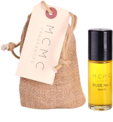 MCMC Fragrances Dude No.1 olejek do brody dla mężczyzn