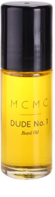 MCMC Fragrances Dude No.1 олио за брада за мъже 2